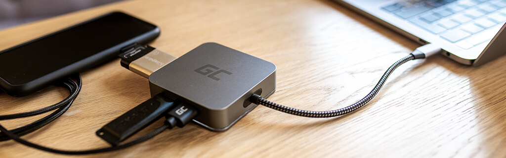 What is the USB-C docking station for?