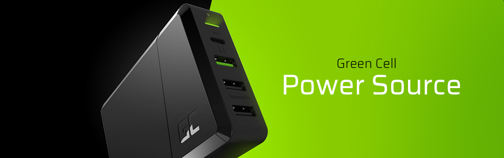 Green Cell GC Power Source – replace several chargers with one