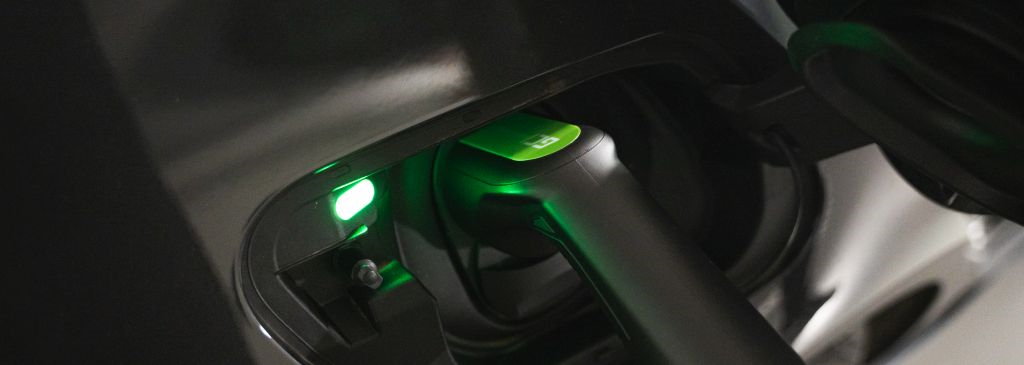What the electric car charging scheme looks like?