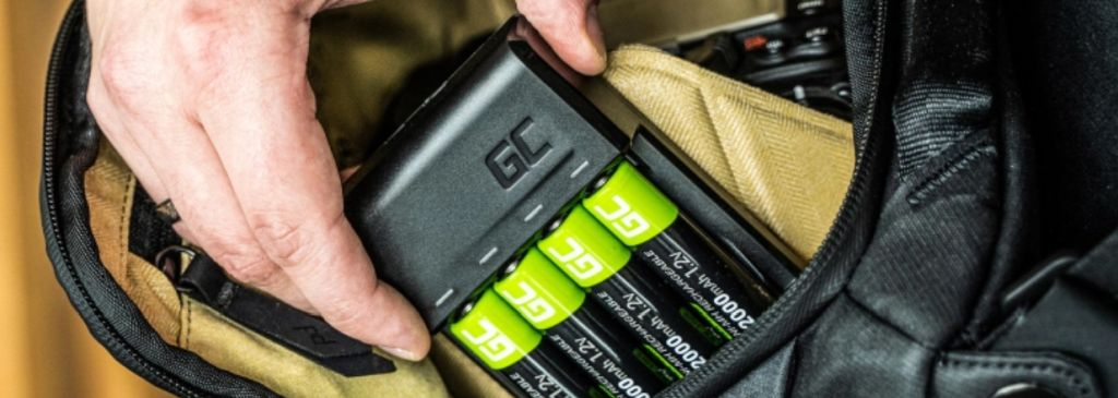 batteries from green cell